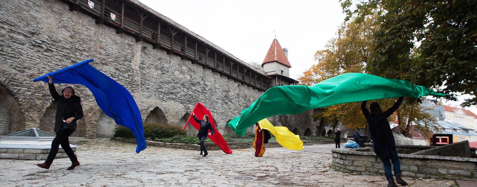 Tallinna Linnamuuseumi rõõmurullid Foto Meeli Küttim