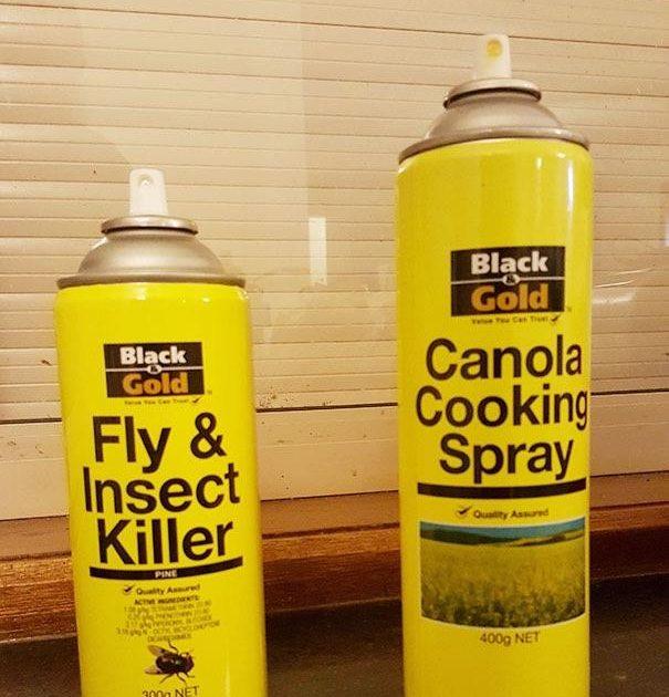 Putukamürk versus küpsetussprei